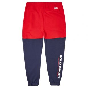 Sweatpants - Navy / Red