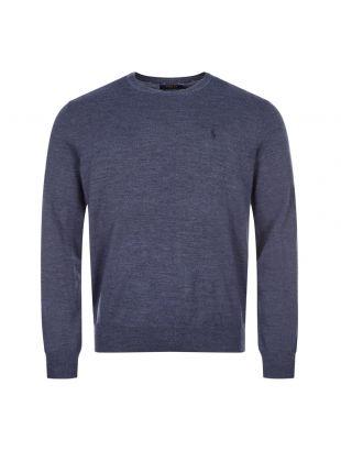 Ralph Lauren Knitted Jumper | 710714346 021 Blue | Aphrodite