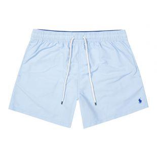 Ralph Lauren Traveller Swim Shorts | 710777751 004 Sky Blue