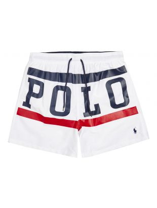 ralph lauren swim shorts 710793385 001 white