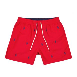 Ralph Lauren Swim Shorts   710739102 002 Red