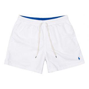 Ralph Lauren Swim Shorts   710683997 018 White