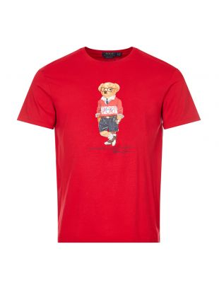 T-Shirt Bear Logo - Red