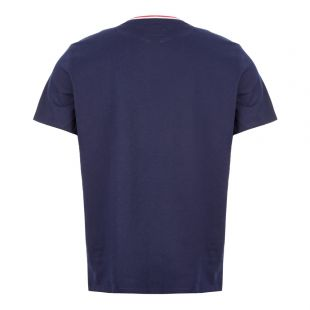 Sleep T-Shirt – Navy / Red