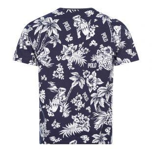 T-Shirt - Navy Print