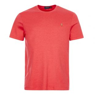 ralph lauren t-shirt 710740727 026 rosette red