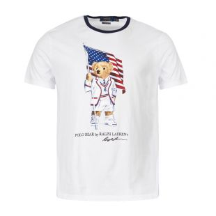 ralph lauren t-shirt 710755847 001 white
