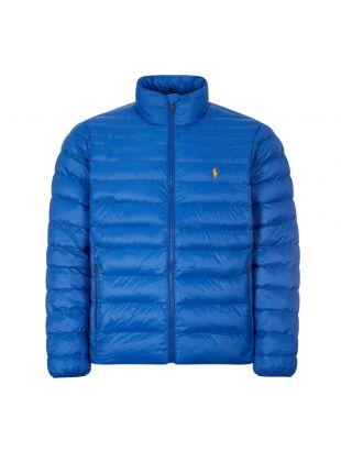 Ralph Lauren Terra Bomber Jacket |  710810897 006 Blue | Aphrodite
