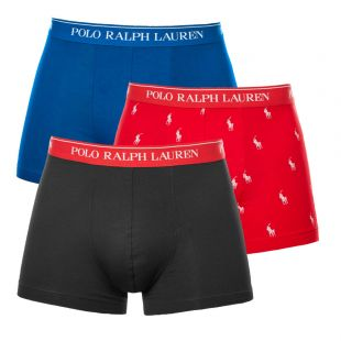Ralph Lauren 3 Pack Trunks Pony | 714662050 044 Multi