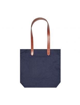 Canvas Tote Bag Polo Bear - Navy