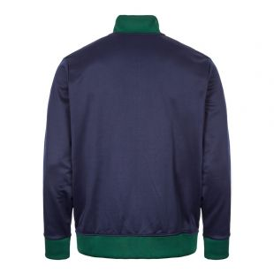 Track Top – Navy / White / Green