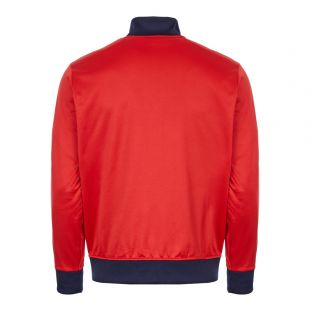 Track Top – Red / Navy / White