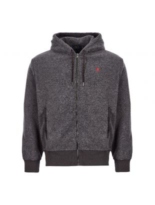 Ralph Lauren Hoodie Fleece | 710768833 002 Grey