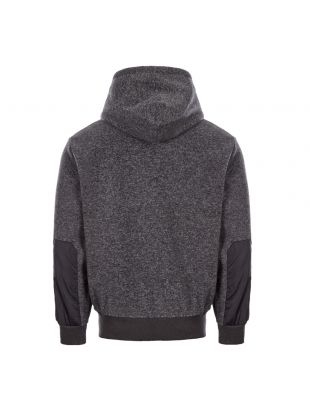 Hoodie Fleece – Grey