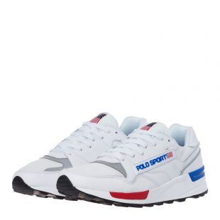 Trackster Trainers - White