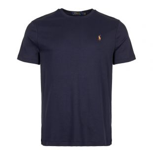 polo ralph lauren t-shirt  710740727 003 navy