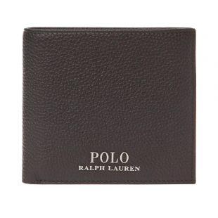 Ralph Lauren Coin Wallet 405710792 002 Brown