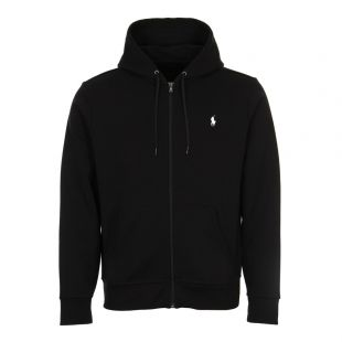 Ralph Lauren Zip Up Hoodie 710652313 001 Black