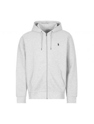 Ralph Lauren Zip Up Hoodie 7106452313 023 Heather Grey
