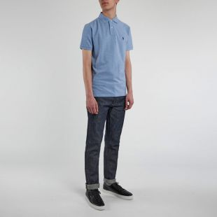 Slim Fit Polo Shirt - Jamaica Blue