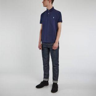 Slim Fit Polo Shirt - Navy