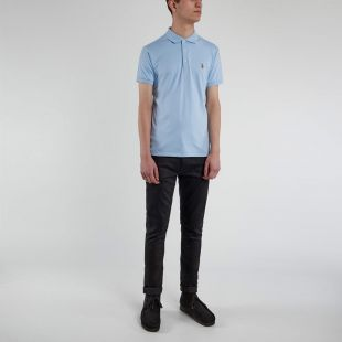 Slim Fit Polo - Blue