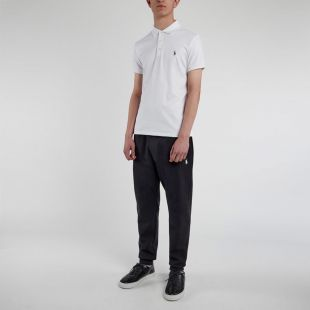 Slim Fit Polo Shirt - White