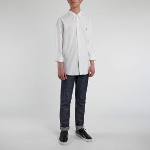 Slim Fit Oxford Shirt - White