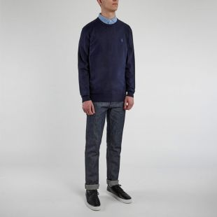 Knitted Sweater - Navy