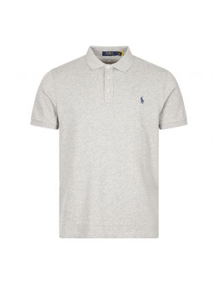 Ralph Lauren Polo Shirt | Heather Grey