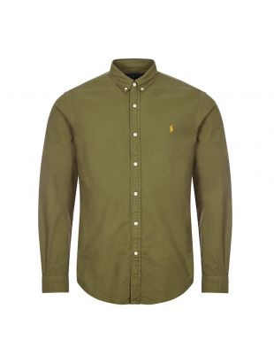 Ralph Lauren Oxford Shirt | Defender Green | Aphrodite
