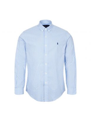 Ralph Lauren Shirt Gingham | Light Blue | Aphrodite