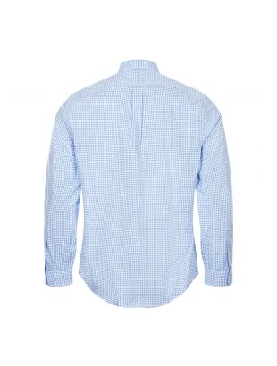 Shirt Gingham - Light Blue