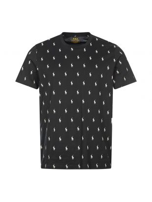 Ralph Lauren Crew Neck T-Shirt | Polo Black