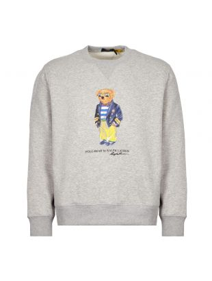 Ralph Lauren Polo Bear Sweatshirt Marina | Grey