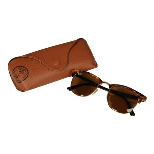 Clubmaster Sunglasses - Brown / Tortoise