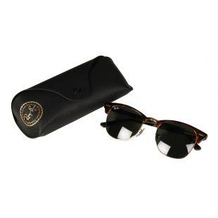 Clubmaster Sunglasses - Green / Tortoise