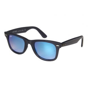 Ray Ban Wayfarer Sunglasses | RB4340 62324050 Blue Mirrored