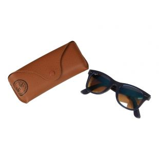 Wayfarer Sunglasses - Blue Mirrored