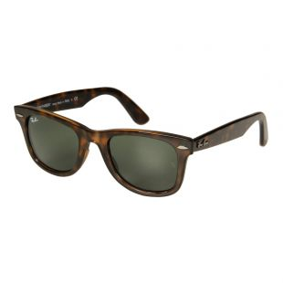 Ray Ban Wayfarer Sunglasses | RB4340 710 50 Havana / Green