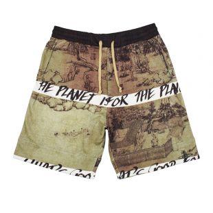 Vivienne Westwood Shorts | S25MU0058 S25406 003S Green / Black