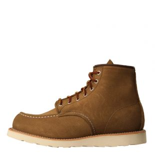red wing moc toe boots 8881 olive mohave