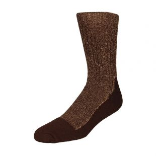 Red Wing Deep Toe Capped Wool Socks 97173 Brown