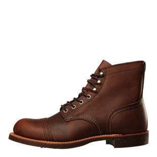 Red Wing Iron Ranger Boots 8111 in Amber Harness