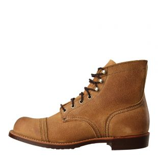 Red Wing Iron Ranger Boots 8083 Tan Roughout