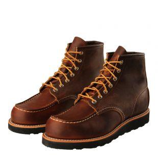 Moc Toe Boots - Copper Rough & Tough