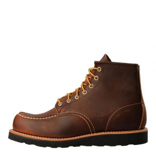 Red Wing Moc Toe Boots 6