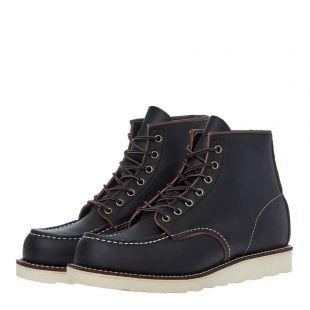 Moc Toe Boots - Black