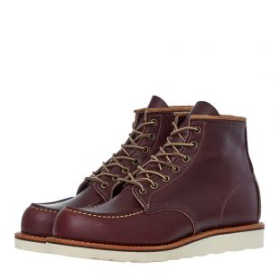 Moc Toe Boots - Oxblood