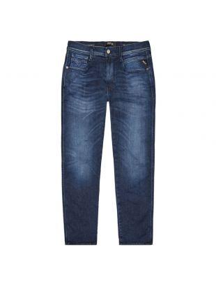 replay anbass jeans hyperflex clouds M914 661 E05 007 blue